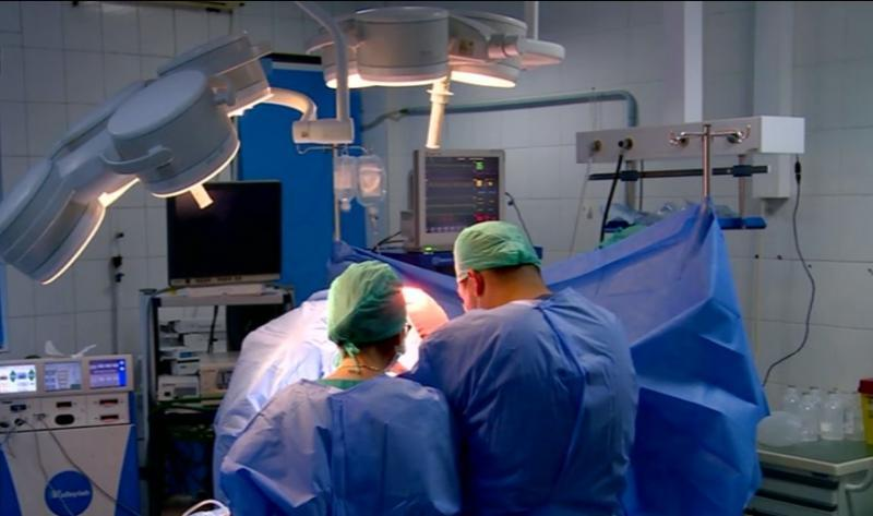 sală de operații Spitalul Clinic Dr. Ioan Cantacuzino