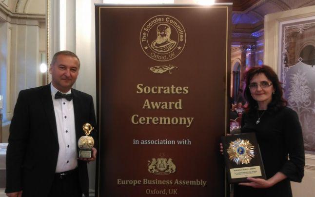 """Premiul European Quality Award pentru educaţie Colegiul Naţional """"AT Laurian"""""""