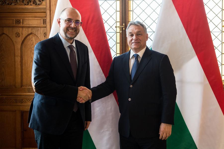 Kelemen Hunor şi Viktor Orbán