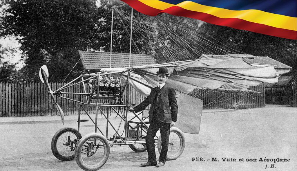 Traian Vuia, inventatorul român care a reuşit primul zbor autopropulsat, cu un aparat mai greu decât aerul