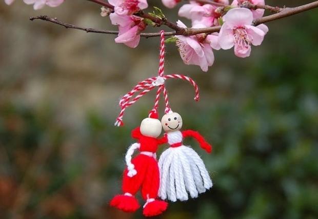 Legenda mărţişorului, simbolul primăverii