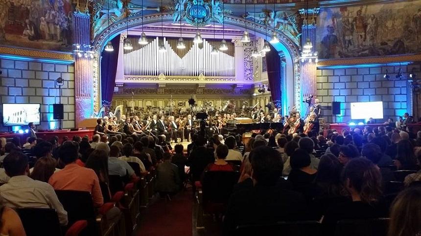 """Concursul Internaţional """"George Enescu"""", la 60 de ani de la lansare. Record de participanți."""