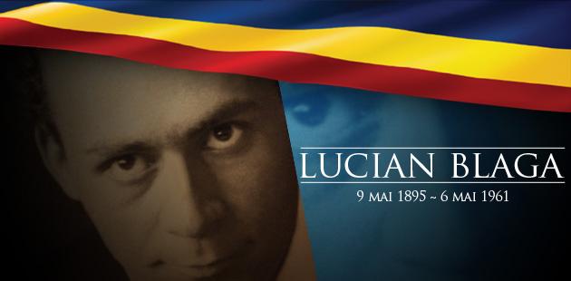 Lucian Blaga, poet, dramaturg şi filosof român