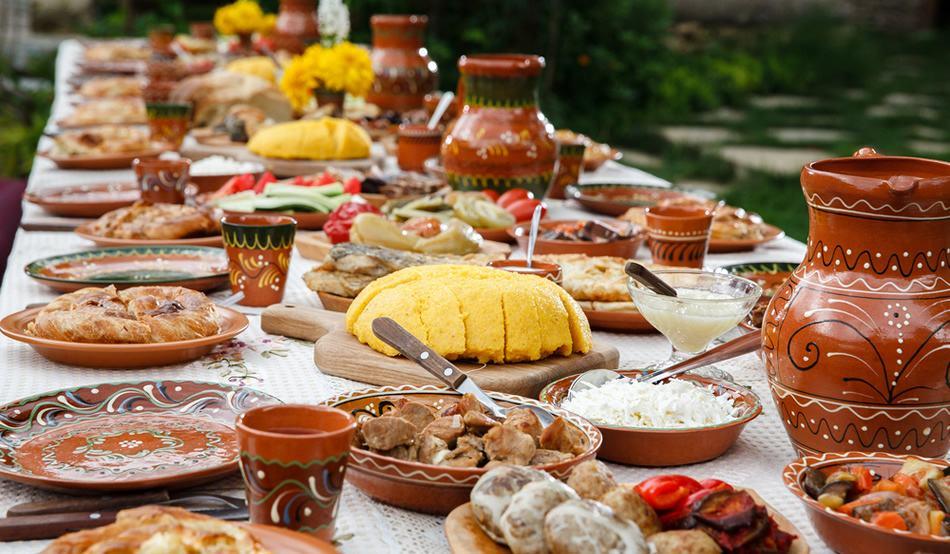 Bucătăria românească. Bucate alese, din străbuni