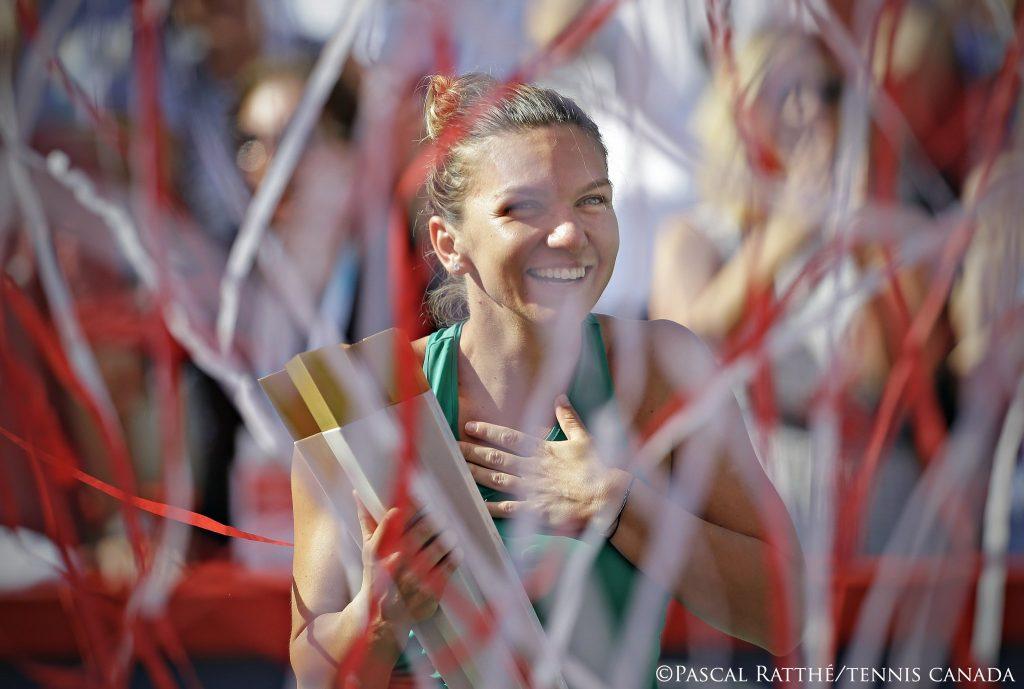 FELICITĂRI! Simona Halep a câștigat turneul de la Montreal