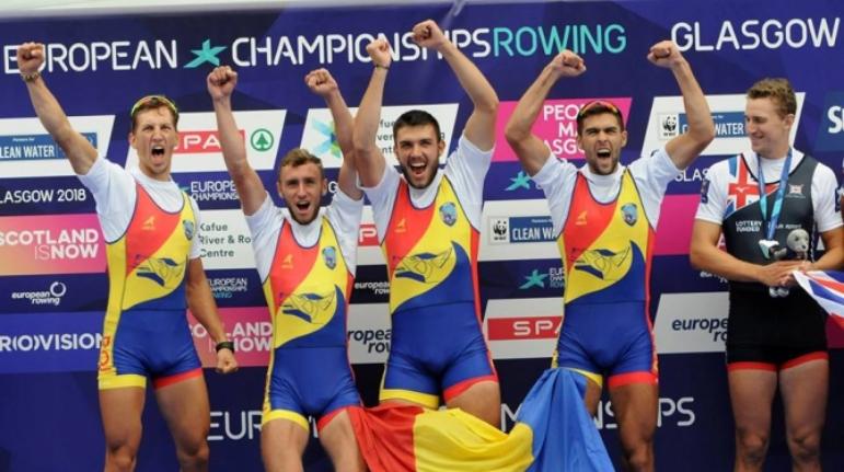 PERFORMANȚĂ. România a obţinut şapte medalii la Campionatele Europene de canotaj, fiind liderul clasamentului pe naţiuni