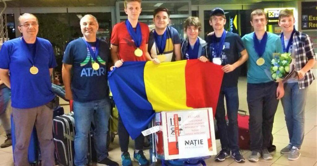 Performanță deosebită România, campioană mondială la robotică