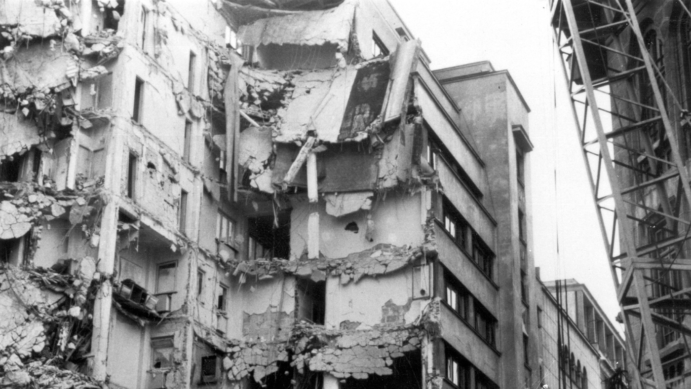 Clădirile cu risc seismic, una dintre problemele majore ale Capitalei.