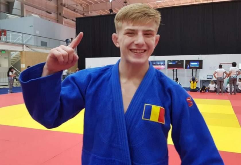 Performanță. Medalia de AUR pentru ROMÂNIA la Jocurile Olimpice de Tineret la JUDO
