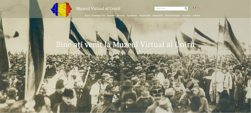 Centenarul Marii Uniri Muzeul Virtual al Unirii, lansat la Muzeul Naţional de Istorie a României