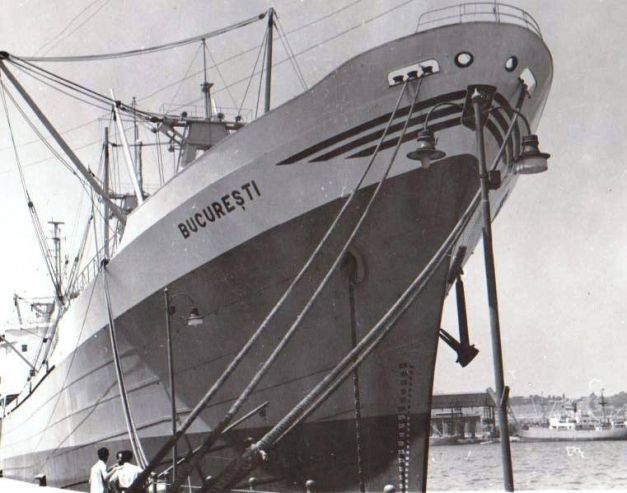 """Cargoul """"Bucureşti"""", prima navă românească care a făcut înconjurul lumii"""
