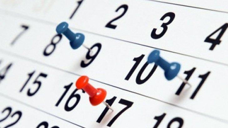 Zile libere în 2019. Câte zile nelucrătoare au românii anul acesta