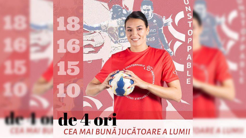 Cristina Neagu, cea mai bună handbalistă a lumii