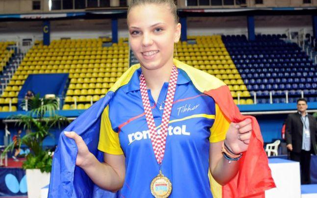 Medalie de aur Adina Diaconu