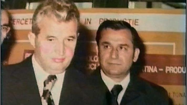 Ceauşescu şi Iliescu