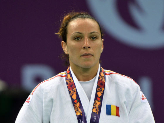 Andreea Chiţu pe podium