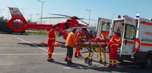 Intervenţie elicopter smurd