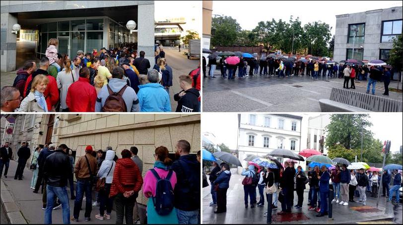 PSD dispretuiește românii din Diaspora Cozile umilinţei s-au întors după 5 ani zeci de mii de oameni au stat ore întregi la cozi kilometrice în fața secțiilor de votare