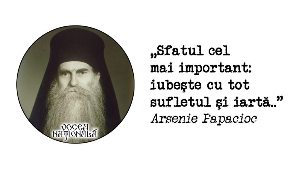 citat de Arsenie Papacioc