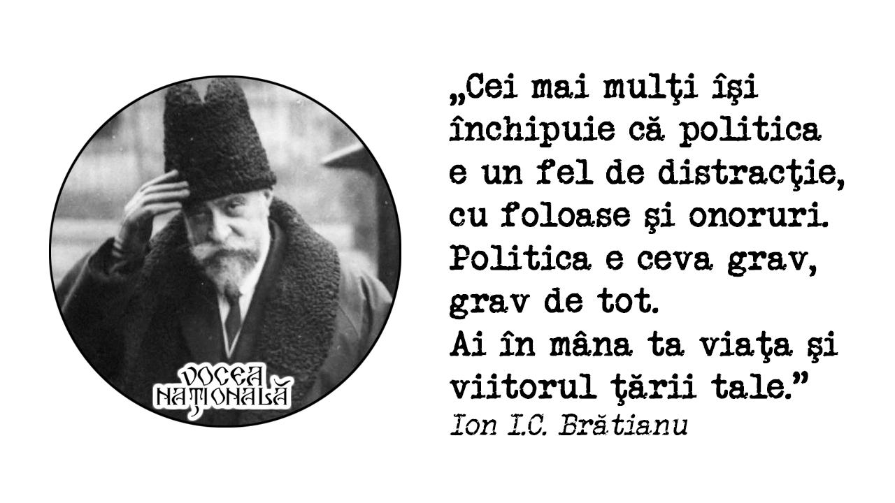 citat de Ion I.C. Brătianu