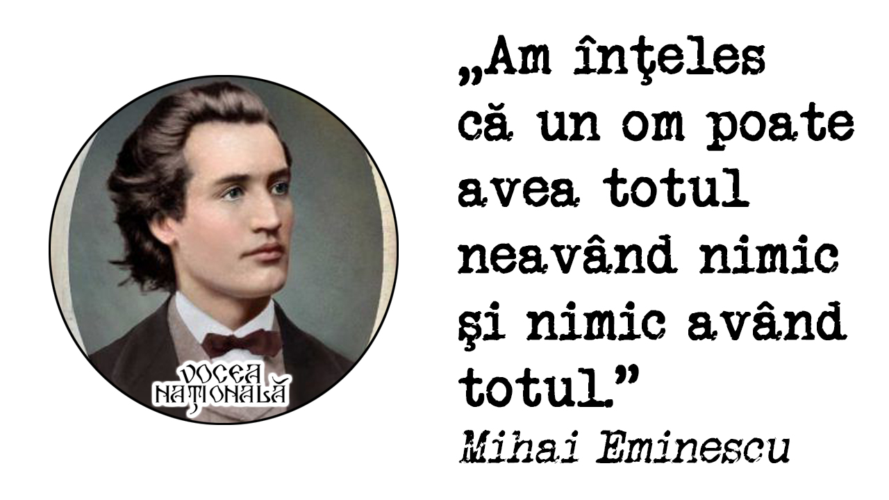Citat de Mihai Eminescu