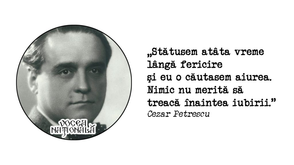 , citat de Cezar Petrescu