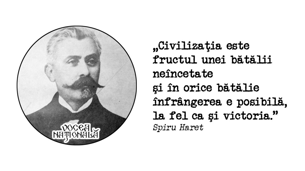 Civilizaţia este fructul unei bătălii neîncetate şi în orice bătălie înfrângerea e posibilă, la fel ca şi victoria