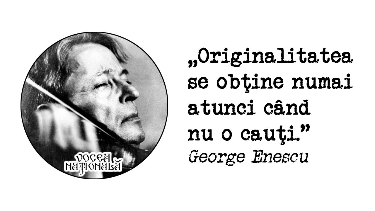 Originalitatea se obţine numai atunci când nu o cauţi
