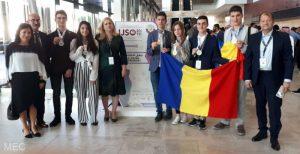 medalii de aur şi patru de argint la Olimpiada Internaţională de Ştiinţe pentru Juniori