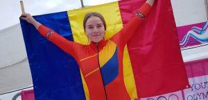 prima campioană olimpică a României din istoria monobobului