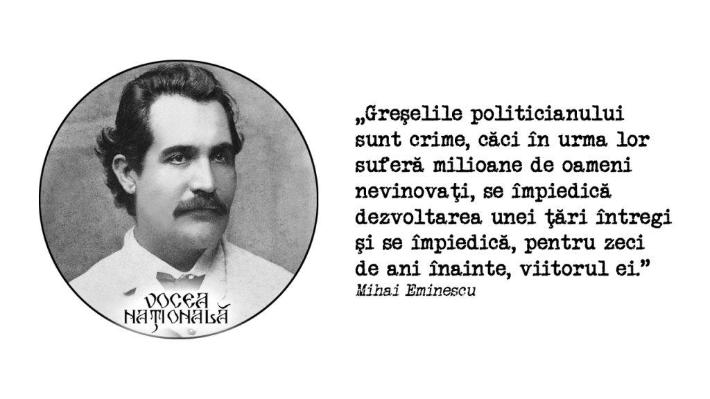 Greşelile politicianului
