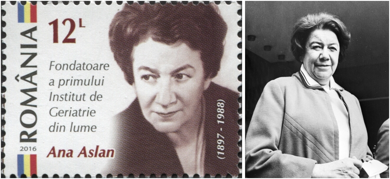 Ana Aslan, românca care a descoperit secretul tinereții