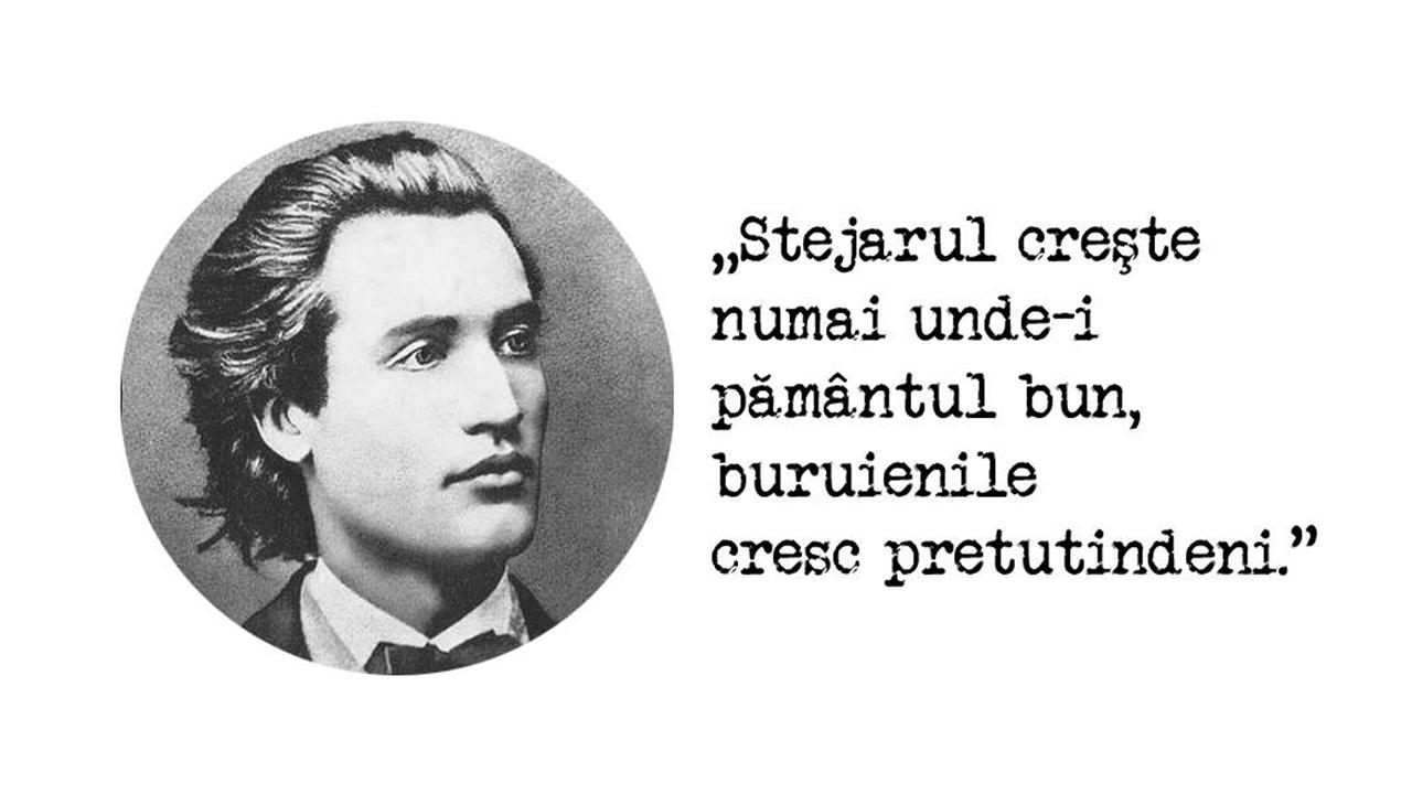 Cele mai frumoase citate din Mihai Eminescu Luceafărul poeziei româneşti