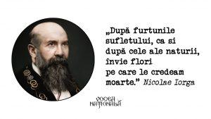 Furtunile sufletului, citat de Nicolae Iorga