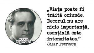 citat de Cezar Petrescu