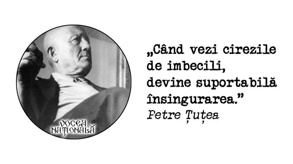 citat de Petre Țuțea
