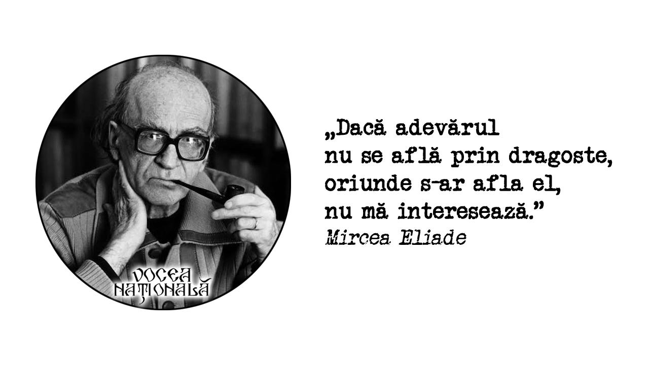 citat de Mircea Eliade