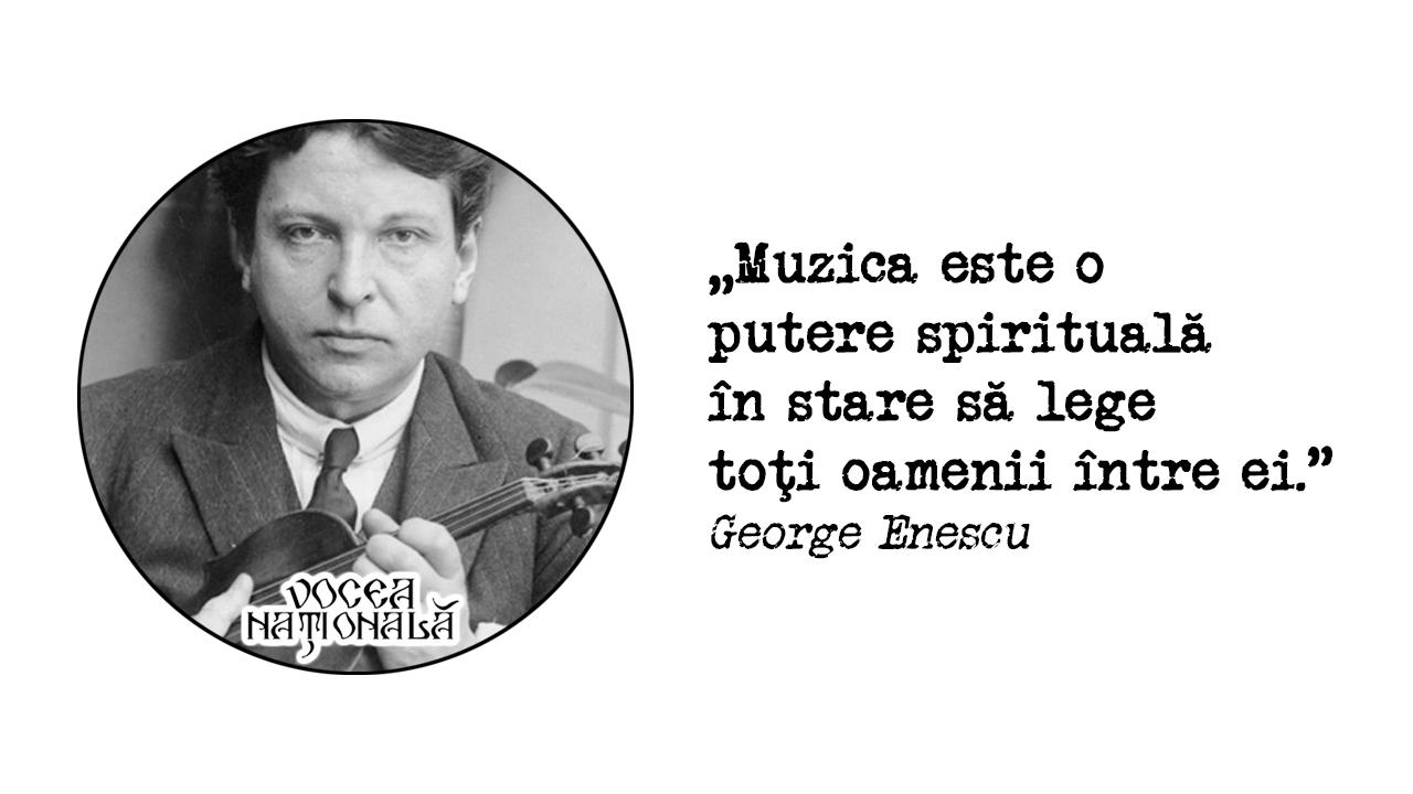 citat de George Enescu