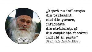 citat de Părintele Iustin Pârvu