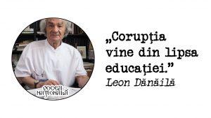 Corupția vine din lipsa educației