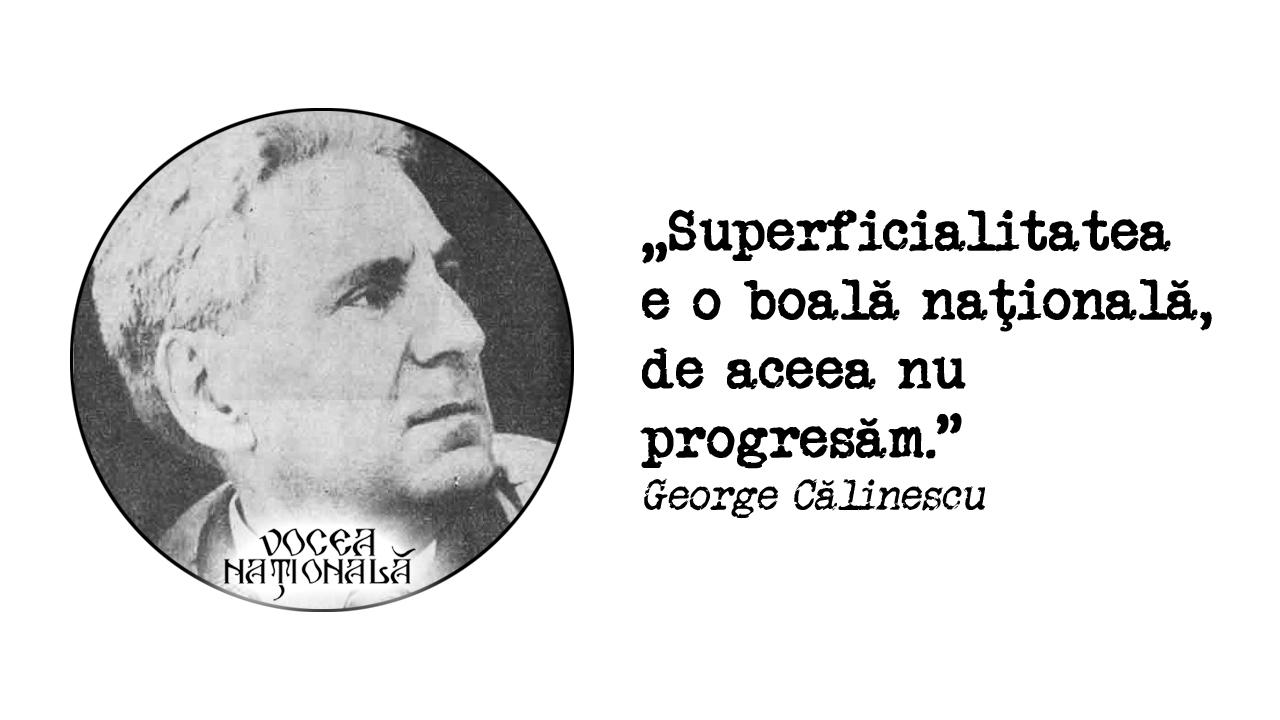 Superficialitatea şi progresul