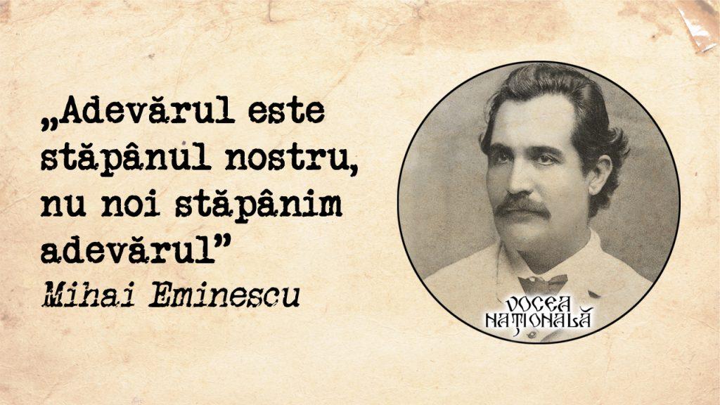 Adevărul este stăpânul nostru, nu noi stăpânim adevărul
