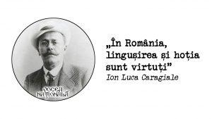 În România, linguşirea şi hoţia sunt virtuţi
