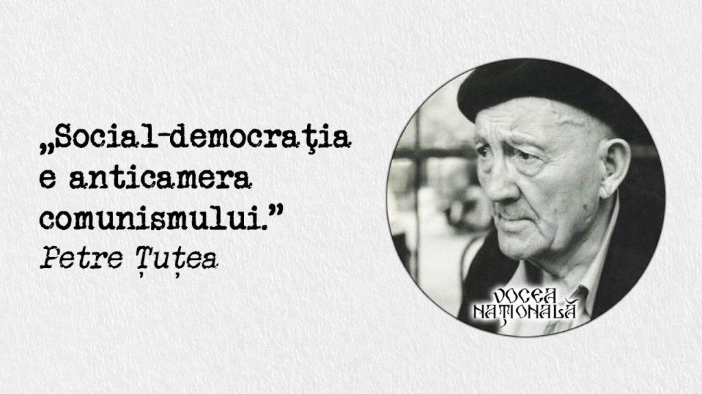 Social-democraţia e anticamera comunismului