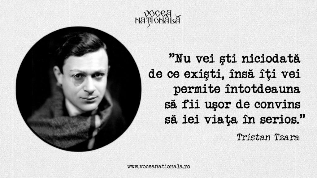 16 aprilie 1896 / s-a născut Tristan Tzara, scriitorul care a revoluţionat arta secolului 20