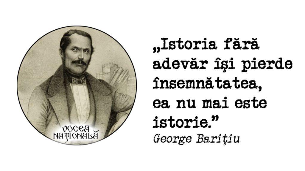A încetat din viaţă George Barițiu mare om de cultură conducător al luptei de emancipare națională a românilor ardeleni