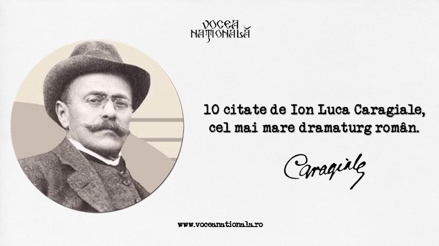 10 citate de Ion Luca Caragiale