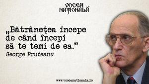 Citate de George Pruteanu, unul dintre cei mai importanţi apărători ai limbii române.