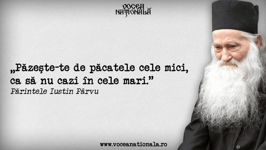 Cugetări de Iustin Pârvu